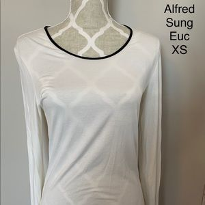 Alfred Sung Long Sleeved Shirt